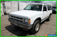 1994 Chevrolet S-10 4x4 Sport Utility (before 12.7.93)