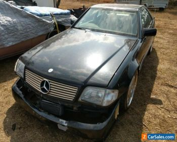 1991 MERCEDES BENZ R129 300SL BLACK SPORT COUPE ROADSTER AMG for Sale