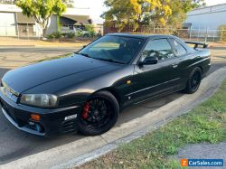 NISSAN SKYLINE R34 GTT GT-T MANUAL COUPE RB25DET