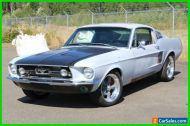 1967 Ford Mustang Rare Raven Black Mustang Fastback 5 Speed, 4 wheel Disc, Rack