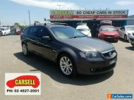 2009 Holden Calais VE MY09.5 V Sportwagon Grey Automatic 6sp A Wagon