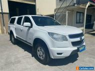 2013 Holden Colorado RG LX White Automatic A Utility