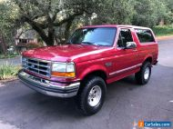 1994 Ford Bronco XLT