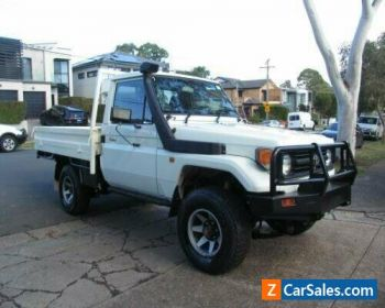 1996 Toyota Landcruiser HZJ75RP (4x4) White Manual 5sp M Cab Chassis for Sale