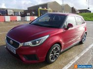 2019 MG3 VTI TECH EXCITE 5 DR HATCHBACK PETROL MANUAL RED 6450 MILES