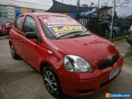 2005 Toyota Echo NCP10R Red Automatic 4sp A Hatchback
