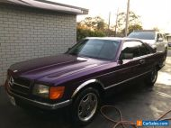 MERCEDES,380,SEC,Rare,AMG,No reserve, Not 500,560 Sec, classic,collectible Coupe