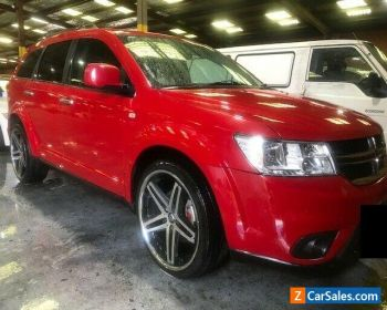 2014 Red Dodge Journey Wagon for Sale