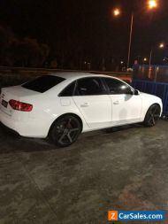 Audi A4 Sedan White1.8T 2011