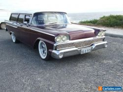 1959 Ford Ranch Wagon Tank Barge Longroof