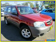 2002 Mazda Tribute Limited Red Automatic 4sp A Wagon