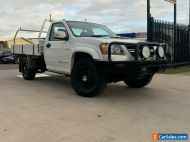 2009 Holden Colorado White Manual M Cab Chassis