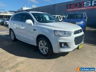 2016 Holden Captiva CG LT White Automatic A Wagon