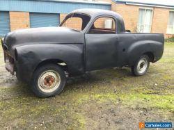 FJ Holden ute, rat rod, barn find, classic car