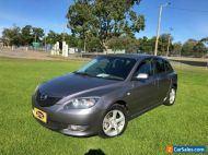 2005 Mazda 3 BK Maxx Sport Graphite Manual 5sp M Hatchback