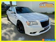 2012 Chrysler 300 LX SRT-8 Sedan 4dr Spts Auto 5sp 6.4i [MY12] White Automatic