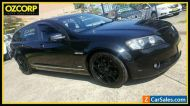 2009 Holden Calais VE MY09.5 V Black Automatic 6sp A Sportswagon