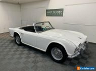 1963 Triumph TR4 1962 TRIUMPH TR-4. 4-SPEED, DISC WHEELS. WELL-PRESERVED.