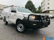 2017 Toyota Hilux GUN125R Workmate (4x4) White Automatic 6sp A Cab Chassis