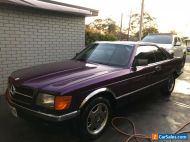 MERCEDES,380,SEC,Rare,AMG,Wheels,Not 500 Sec,560 Sec, classic,collectible Coupe