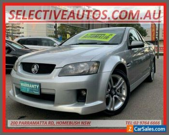 2007 Holden Commodore VE SV6 Silver 5 SP AUTOMATIC Utility for Sale