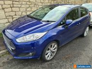 Ford Fiesta 1.0 ecoboost titanium x