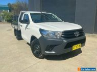 2017 Toyota Hilux TGN121R Workmate Cab Chassis Single Cab 2dr Spts Auto 6sp 2.