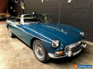 1969 MG B MKII w/ OVERDRIVE AUST. Delivered Rare Indigo Blue full NSW Rego MGB