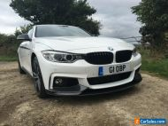 BMW 4 Series Coupe (2016) F32 3.0 435d M Sport xDrive 2dr White with Carbon Trim