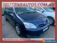 2005 Toyota Corolla ZZE122R Ascent Seca Blue Automatic 4sp A Hatchback