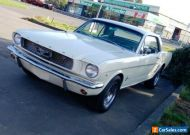 1966 FORD MUSTANG (RARE C CODE 3 SPEED MANUAL) TAHOE TURQUOISE COUPE