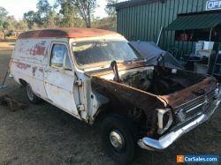 HR Holden Panel Van