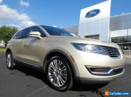 2017 Lincoln MKX 2017 MKX Reserve AWD 3.7L Palladium White Gold