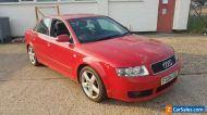 2004 Audi A4 1.9 TDi Sport Red Automatic MOT Nov