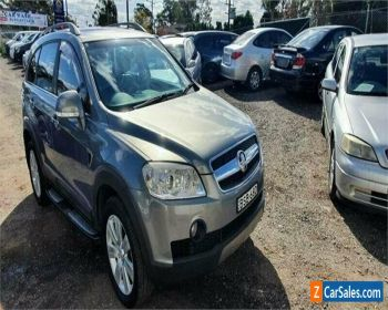 2010 Holden Captiva CG MY10 LX (4x4) Grey Automatic 5sp A Wagon for Sale
