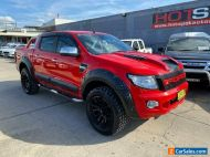 2014 Ford Ranger PX XLT Red Automatic A Utility