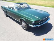 1967 Ford Mustang Convertible C code V8 289ci