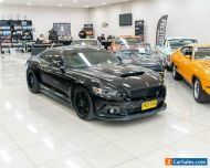 2017 Ford Mustang FM MY17 Fastback GT 5.0 V8 Black Manual 6sp M Coupe