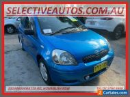 2003 Toyota Echo NCP10R Blue Automatic 4sp A Hatchback