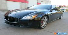 2014 Maserati Quattroporte GTS 3.8L 8V Twin-Turbocharge.