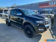 2016 Ford Ranger PX MkII XLT Black Automatic A Utility