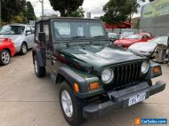 1997 JEEP WRANGLER SPORT SOFT TOP AUTOMATIC UNRESERVED