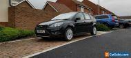 Ford Focus 1.6 Titanium (2010). 5 Door Manual. Panther Black. No Reserve.