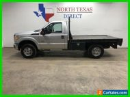 2015 Ford F-250 FREE HOME DELIVERY! Diesel 4x4 Flat Bed Single Cab