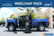 2013 Chevrolet Silverado 2500 LTZ Wheelchair Accessible Truck Ryno Mobility