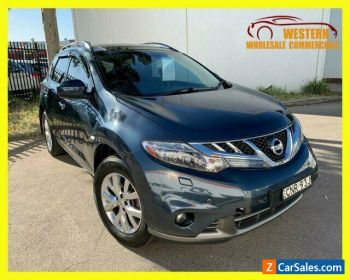 2013 Nissan Murano Z51 Series 4 Ti Wagon 5dr CVT 6sp 4x4 3.5i [MY14] Blue A for Sale
