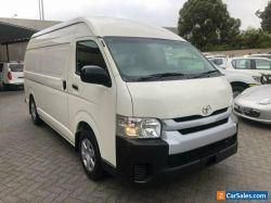 2016 Toyota HiAce KDH221R MY16 SLWB White Automatic 4sp A Van