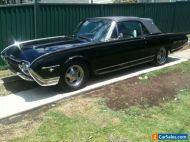 SUPER RARE BEAUTIFUL 1962 FORD THUNDERBIRD M SERIES TRIPOWER ROADSTER RESTORED