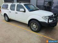 2012 Nissan Navara D40 ST (4x4) White Manual Dual cab