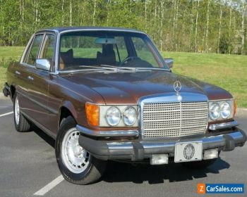 1979 Mercedes-Benz 300-Series 300SD Turbodiesel for Sale